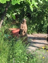 St Francis is watching over and taking care of everything especially well this year.